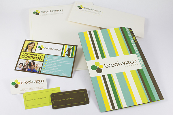 Brookview Commons collateral by Kara Fuhlbrugge