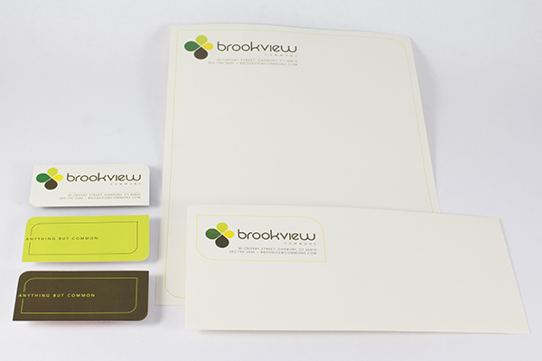 Brookview Commons stationery by Kara Fuhlbrugge