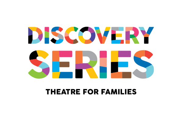 Paramount Theatre | Discovery Series | Theatre for Families logo by Kara Fuhlbrugge