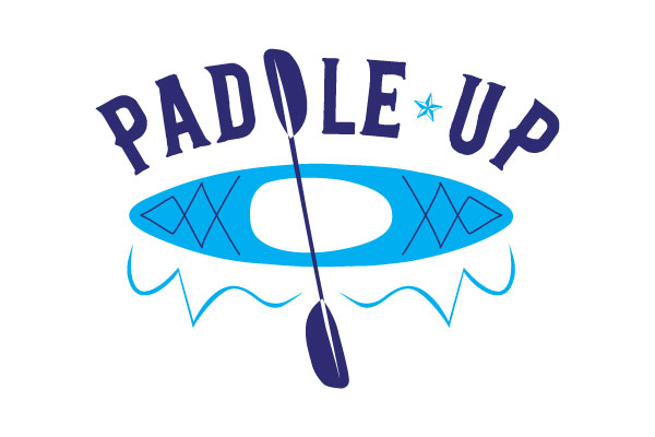 Special Olympics Texas Paddle Up logo by Kara Fuhlbrugge