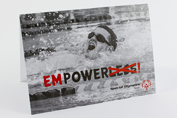 Special Olympics Texas negative to positive word campaign by Kara Fuhlbrugge