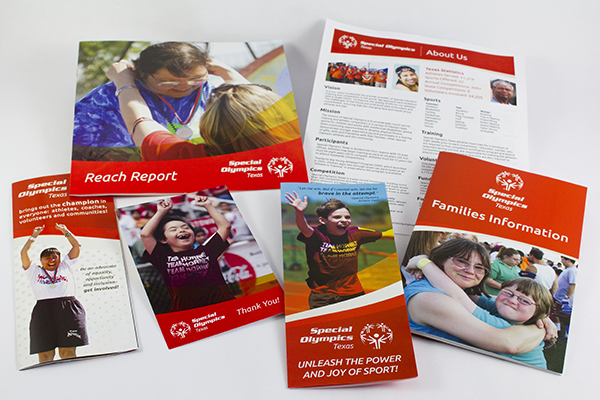 Special Olympics Texas Collateral by Kara Fuhlbrugge