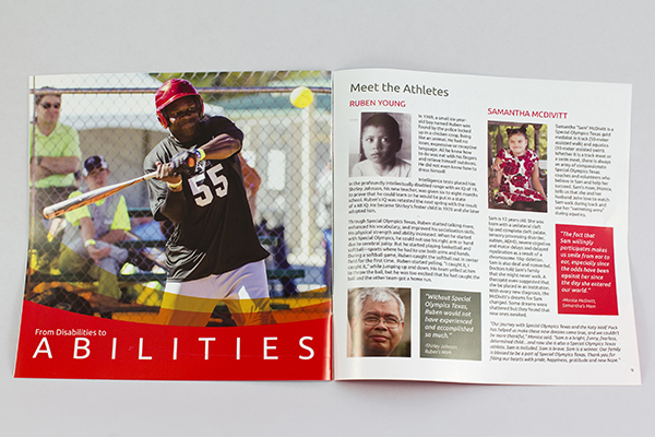 Special Olympics Texas Reach Report by Kara Fuhlbrugge