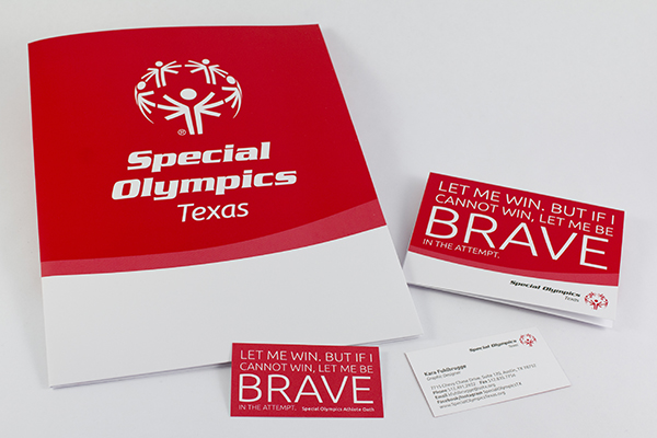 Special Olympics Texas Stationery by Kara Fuhlbrugge